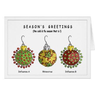 Virus Ornaments Card