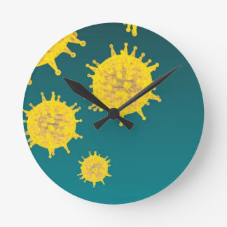 virus round clock