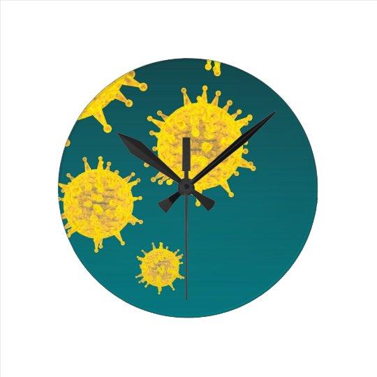 virus wallclocks