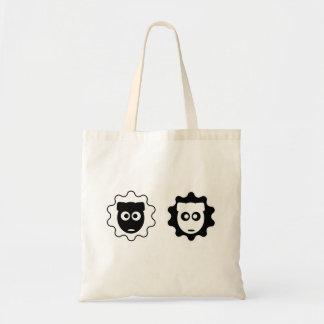 Visa Versa Sheep Pair Tote Bag