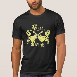 Visad Records Yellow T-Shirt