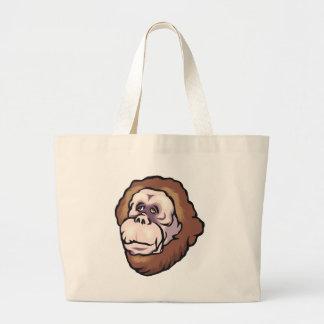 Visage de singe sac en toile