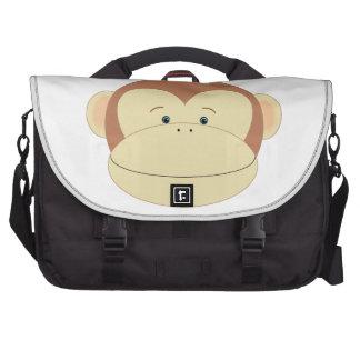 Visage de singe sacoche pour ordinateur portable