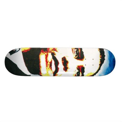 Visage entier d'Obama Plateaux De Skate