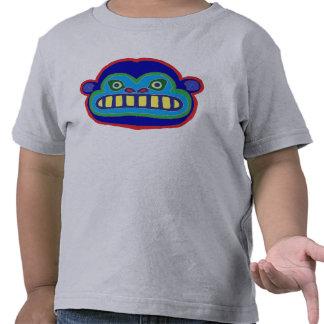 Visage fou de gorille t-shirts