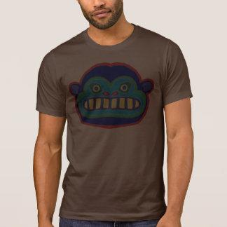 Visage fou de gorille t-shirt