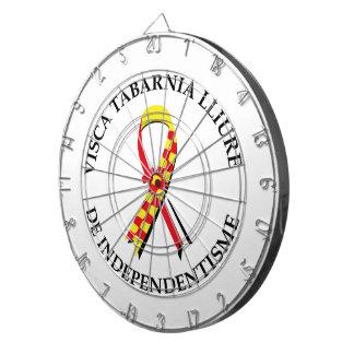 Visca Tabarnia Lliure de Independentisme Dartboard