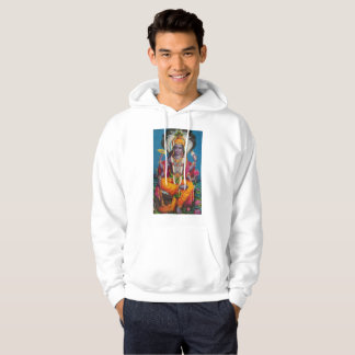 Vishnu Hoodie  --  Stunning  --  Colorful