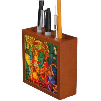 Vishnu Kerala Art Desk Organizer