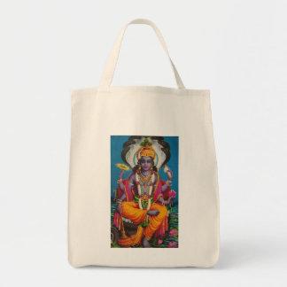 Vishnu Tote bag -- serenely beautiful
