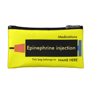 Visible and easy to carry medication bag