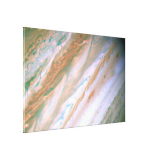 Visible-Light Image of Jupiter -- Hubble Space Gallery Wrap Canvas
