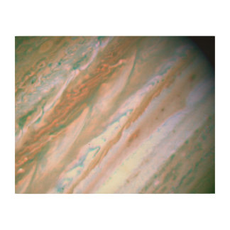 Visible-Light Image of Jupiter -- Hubble Space Wood Canvases