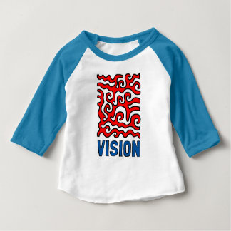 """Vision"" Baby 3/4 Raglan T-Shirt"