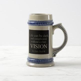Vision Beer Stein