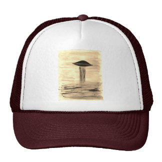 VISION-D8 painting sepia Trucker Hat