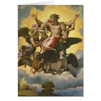 Vision of Ezekiel, c.1518 Card