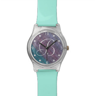 Visionary Bling | Custom Chic Pink Blue Purple | Watch