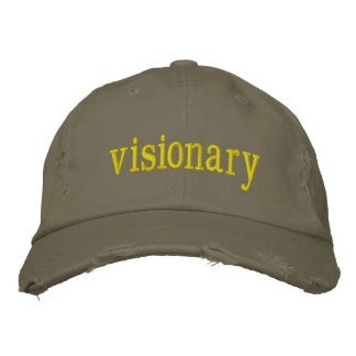 Visionary Embroidered Hats
