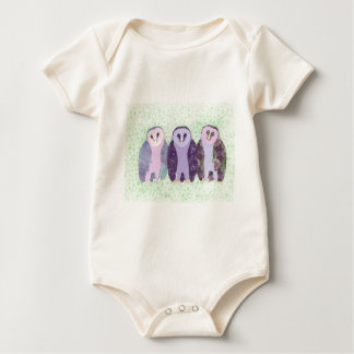 Visionary Owls Baby Bodysuit