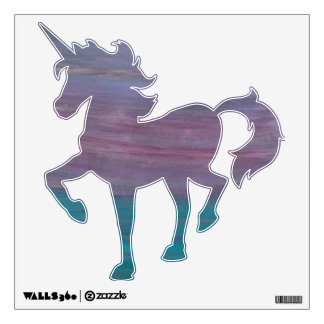 Visionary Pink Purple Turquoise Teal Jewel Tone.jp Wall Sticker