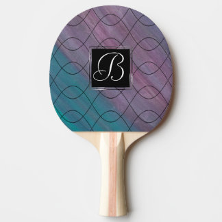 Visionary Play | Name Pink Purple Teal Blue | Chic Ping Pong Paddle