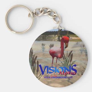 Visions Alpha Keychain - Flamingo