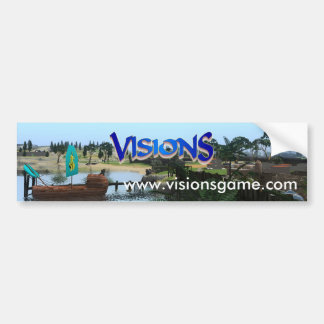 Visions Bumper Sticker 2017