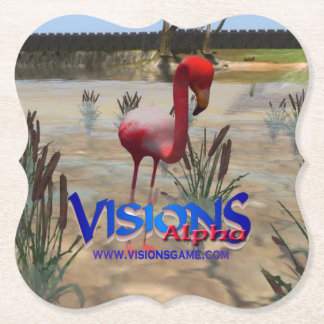 Visions game swag - Drink Coaster