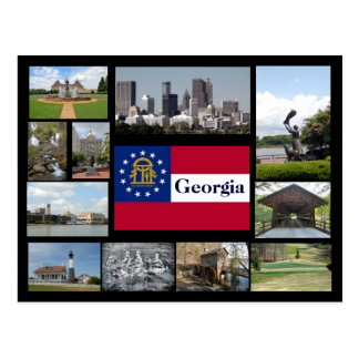 Visions of Georgia Postcard