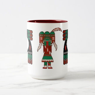 Visions Of Hopi Two-Tone Coffee Mug