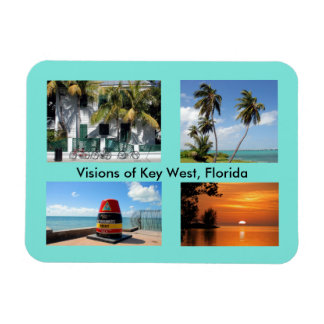 Visions of Key West, Florida Magnet