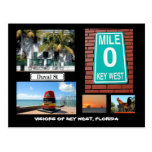 Visions of Key West, Florida Post Card