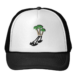 VISIONS OF PARADISE TRUCKER HAT