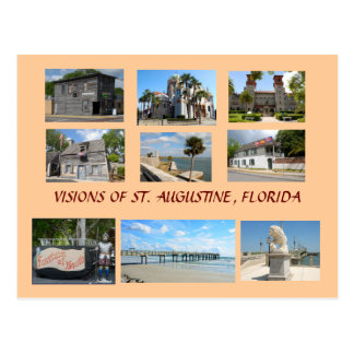 Visions of St. Augustine, Florida Postcard