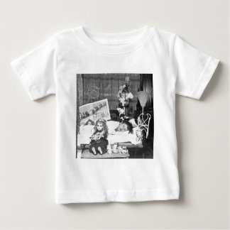 Visions of Sugar Plums 2 - Vintage Stereoview Baby T-Shirt