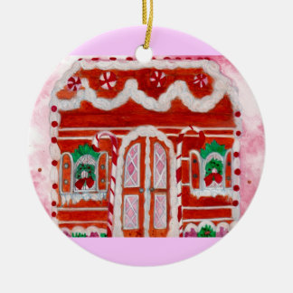 Visions of Sugarplums Ceramic Ornament