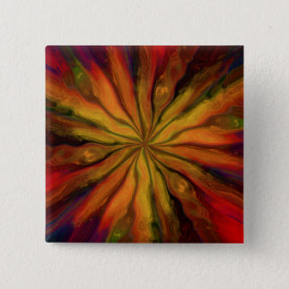Visions of Van Gogh 2 Inch Square Button