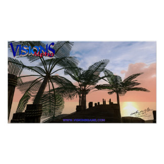 Visions Poster - Kourion Docks - signed