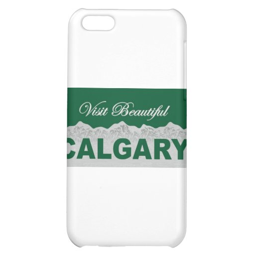 Visit Beautiful Calgary, Alberta iPhone 5C Case