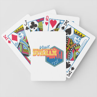 Visit Beautiful Durham Bicycle Playing Cards