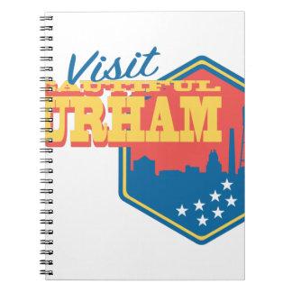 Visit Beautiful Durham Note Book