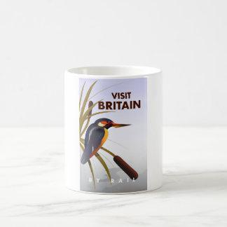 Visit Britain vintage travel poster. Coffee Mug