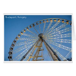 Visit Budapest, Hungary Card