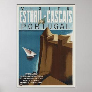 Visit Estoril-Cascais Portugal Poster