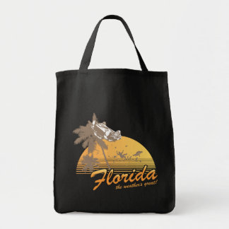 Visit Florida, the Weather's Great - hurricane Canvas Bag