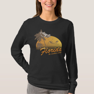 Visit Florida, the Weather's Great - hurricane T-Shirt