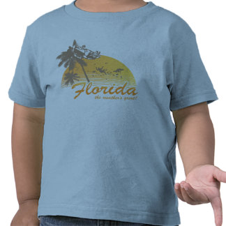 Visit Florida, the Weather's Great - hurricane Tshirt