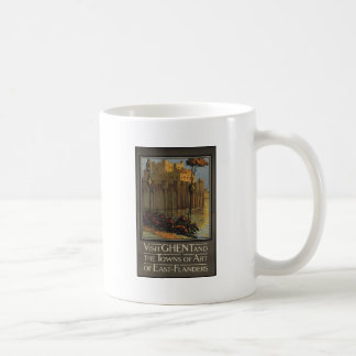 Visit Ghent and the towns of Art of East-Flanders Classic White Coffee Mug