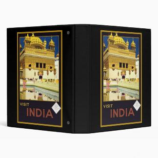 Visit India 3 Ring Binders